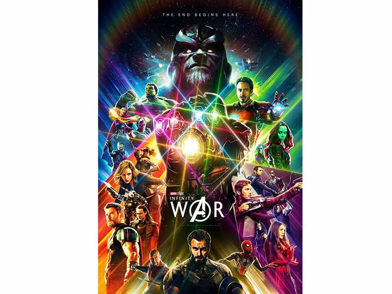 Watch Avengers: Infinity War at Vox Cinemas in Qurum