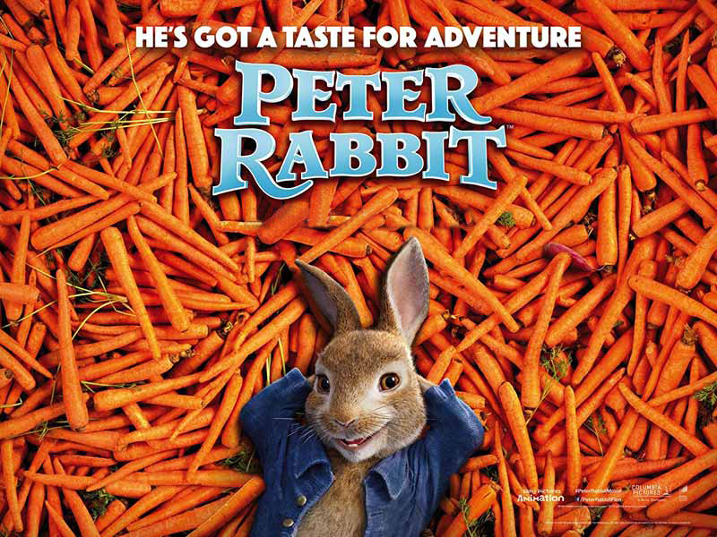 Watch James Cordon as Peter Rabbit at Vox Cinemas in Qurum