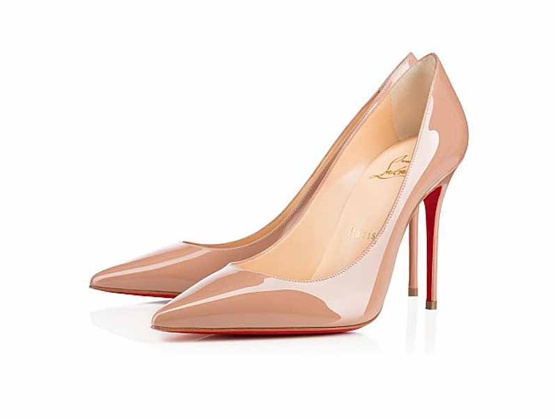 Buy Christian Louboutin's nude heels in Middle East