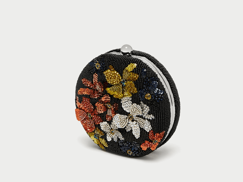 Beaded bag by Zara available at Mall of the Emirates and City Centres