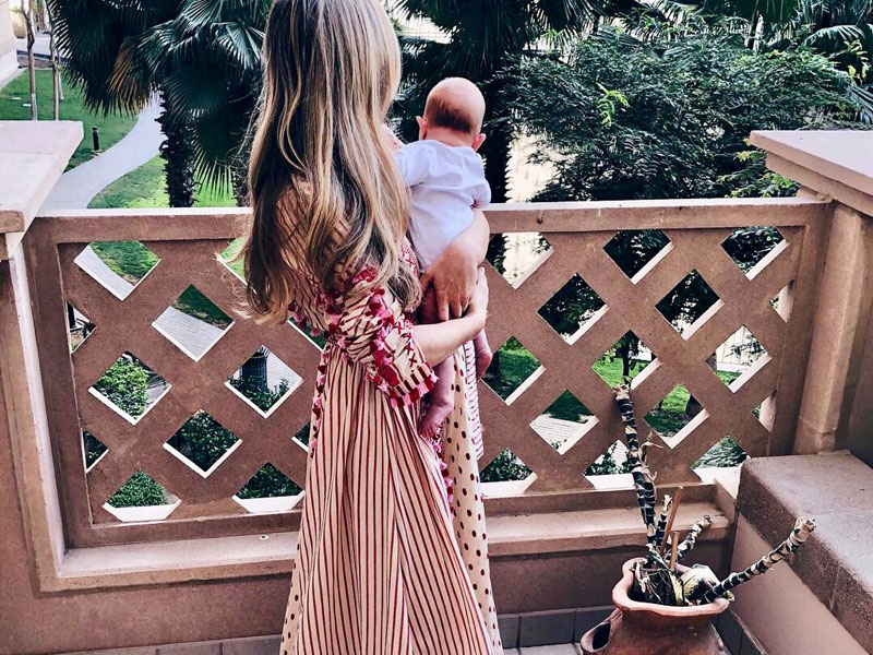 The most fashionable mums to follow in Dubai