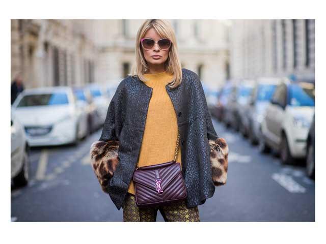 a1531c433516b Street style star Gitta Banko at Paris Fashion Week